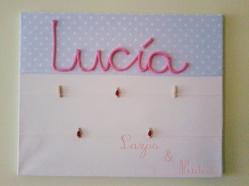 Cuadro Lucía