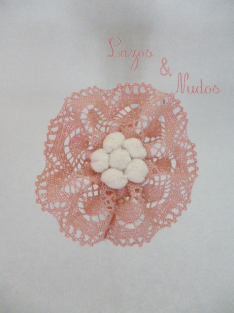 Encaje rosa + madroño f beige