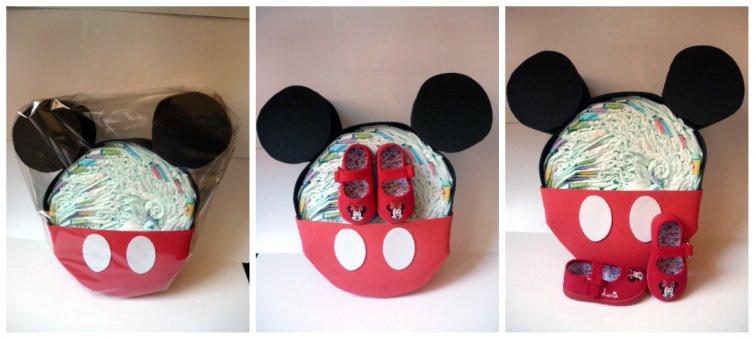 Tarta Mickey + Zap. Minnie
