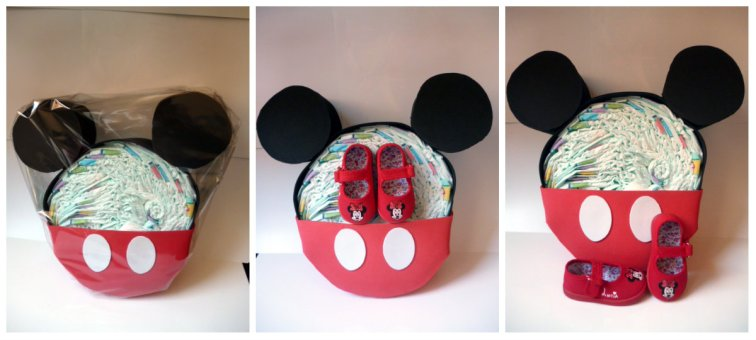 Tarta Mickey + Zap. Minnie