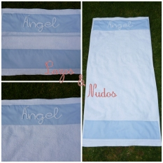 toalla angel