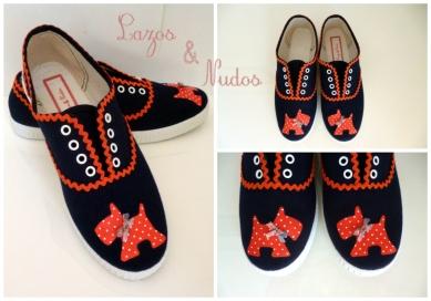 Zapatillas Amichie Naranja