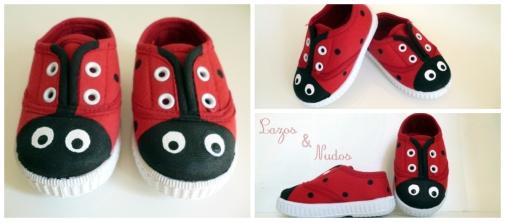 Zapatillas Mariquita pequeñas