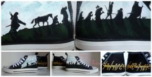 Zapatillas Señor de los Anillos