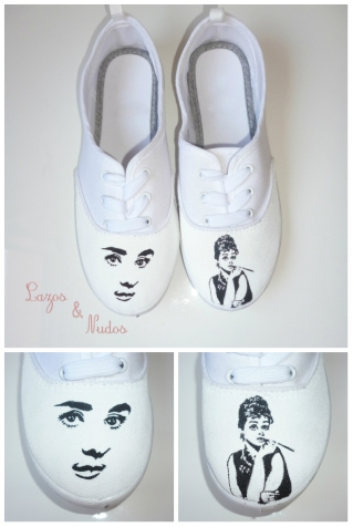 Zapatillas Blancas Audrey Hepburn