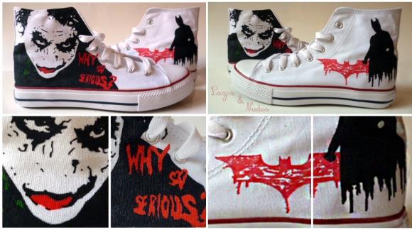 Zapatillas El Caballero Oscuro