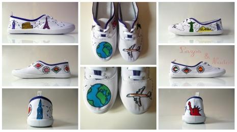 Zapatillas Vuelta al Mundo