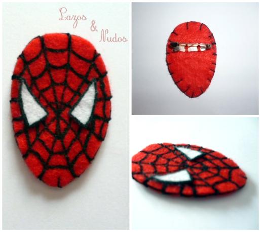 Broche Spiderma