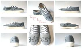 Zapatillas Musicales Violín