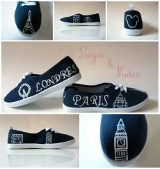 Zapatillas París - Londres