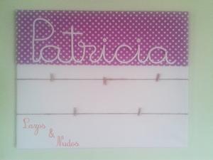 Cuadro Patricia