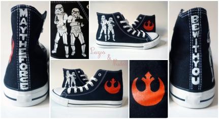 Zapatillas Stormtroopers