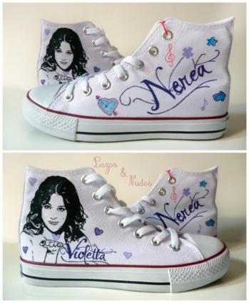 Zapatillas Violetta - Nerea