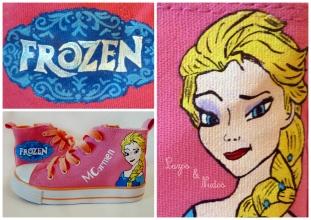 Zapatillas Frozen Rosas