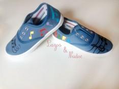 Zapatillas Musicales Colores