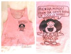 Camiseta Mafalda